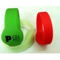Wholesale UHF Silicone Wristband, Soft Silicone Bracelet, EPC GEN2, ISO18000-6C Wristband, Long distance from china suppliers