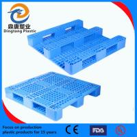 Quality Hot sale plastic pallet with one or two sides for sale
