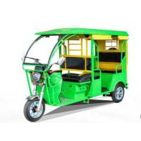 Wholesale 1000W Electric Powered Tricycle Fiber Roof Open Passenger Tricycle With Foot Brake from china suppliers