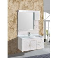 Wholesale Embossing PVC Wall Hanging Bathroom Vanity / Bathroom Decoration Furniture from china suppliers