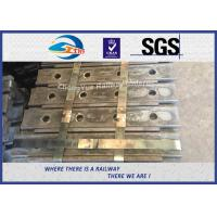 Wholesale Standard Railway Joint Bar Rail AREMA 136RE Rail Track Steel FishPlates 50# Material from china suppliers