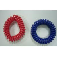 Wholesale Mini wrist coil plastic spring coil ring cord customized color hot sales red blue wrists from china suppliers