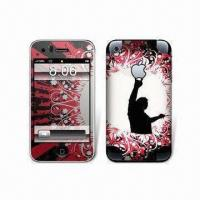 Wholesale iPhone 3G Shiny Protective Skins with Colorful Patterns from china suppliers