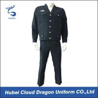Quality Custom Navy Tactical Security Guard Uniform suits for sale