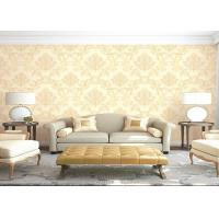 Wholesale Eco - Friendly Embossed Non Pasted PVC Vinyl Wall Covering Room Decoration Wallpaper from china suppliers