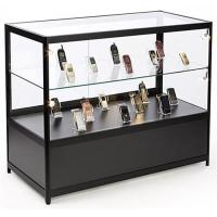 "Wholesale Lockable Cell Phone Display Case , 48"" Retail Glass Countertop Display Case from china suppliers"