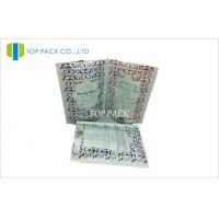 Wholesale White PE Printing Stand Up Pouches For Food Packaging With Clear Bottom from china suppliers
