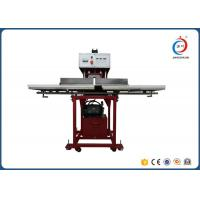 Wholesale Red Automatic Heat Press MachineTextile Hydraulic Double Working Position from china suppliers