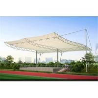 Wholesale High Strength Tensile Structure Architecture , Fabric Shade Structures Windproof from china suppliers
