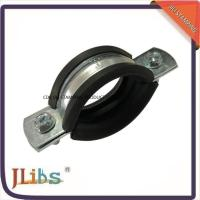 Wholesale M8 Nut Pipe Clamp Fittings Metal Pipe Hangers 3 Inch Ventilation Pipe Clamp from china suppliers