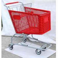 Wholesale Plastic Trolley, American Type Shopping Cart, Supermarket Trolley ,Shopping Trolley ,Hand Trolley from china suppliers