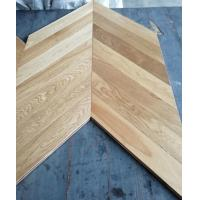Wholesale Chervon Oak engineered wood flooring, AB grade, brushed and natural color from china suppliers