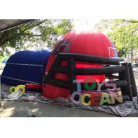 Wholesale Giant Outdoor Inflatable Sport Game / Inflatable Football Sports Tunnel For Boys from china suppliers