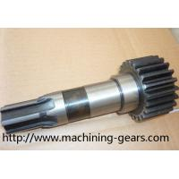 Wholesale Motor Parts Industrial Spur Gear Shaft  / Helical Metal Shaft Head Gear from china suppliers