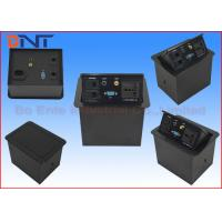 Wholesale Conference Room AV Desktop Power Pop Up Sockets With Audio /  Video / VGA from china suppliers