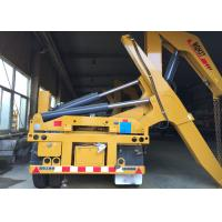 Quality SGS Truck Mounted Cranes Equipment For 3 Axles Semi Trailer Lifting 40ft Container for sale