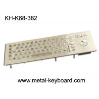 Wholesale 71 Keys Industrial Computer Keyboard , Stainless steel Keyboard for Self service Terminal from china suppliers