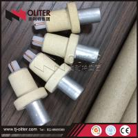 Quality made in China disposable thermocouple with 604 triangle head used for steel mill for sale