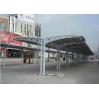 Wholesale Metal Fire Retardant Sun Shade Structures For Double Side Car Parking from china suppliers