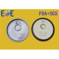 Wholesale Aluminum Canned Easy Open Can Lids For Food , Milk Can Lids Food Grade from china suppliers