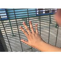 Wholesale high security fence panels, pvc coated clearvu no climb fence from china suppliers