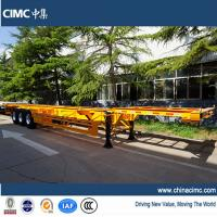 Wholesale CIMC 40ft gooseneck container trailer chassis for sale from china suppliers