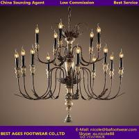 Wholesale 2015 hot sale European style iron chandelier from china suppliers