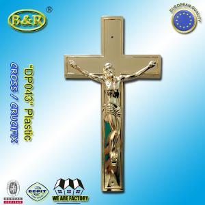Wholesale DP043 Size 19.5*11cm Plastic Cross and Crucifix Crucifijo Cruces Con Cristoaccessori Funebri from china suppliers
