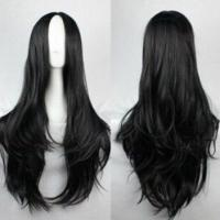 Wholesale Medium Wigs Long Curly Hair Cosplay Wigs Waving and Dyeing Hair from china suppliers
