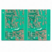 Wholesale Single-sided PCB with 1.0mm Board Thickness, Made of CEM-1, Available with Green Solder Mask from china suppliers