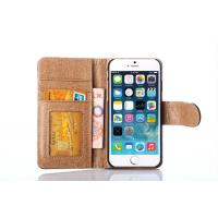 Wholesale Best Price Wallet Leather Case Iphone 6 Case Real Leather Flip Cover from china suppliers