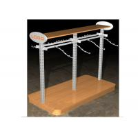 Buy cheap Multi - Funcutional Metal Garments Gondola Display Stands MFD Material With Hanging Hook from wholesalers