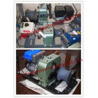 Wholesale Asia Cable pulling winch, CABLE LAYING MACHINES,Cable bollard winch from china suppliers