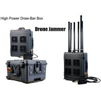 Wholesale Draw - Bar Box Drone Signal Jammer Portable With 360 Watts , 1000m Jamming Range from china suppliers