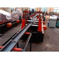 Wholesale 80 - 300mm C Purlin Roll Former PLC Control 45# Chrome Coated from china suppliers
