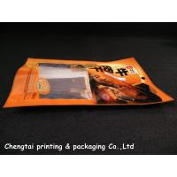 Wholesale Water Proof plastic three side seal pouch translucent materials from china suppliers