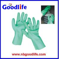 Wholesale 100% cotton inerlock lined/ oil and chemical resistant PVC Glove from china suppliers