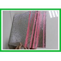 Wholesale Non Toxicity Red Foil Foam Insulation High Efficiency Performance from china suppliers