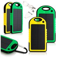 Wholesale external battery charger 5000mah solar power bank from china suppliers