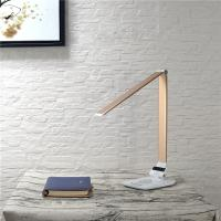 Wholesale Wireless Charger Dimmable Led Desk Lamp Changeable CCT 5 Grades Brightness from china suppliers