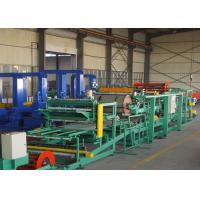 Quality Steel EPS Sandwich Panel Roll Forming Machine 0.286mm  - 0.6mm Thickness for sale