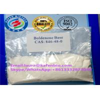 Wholesale CAS 846-48-0 Anabolic Androgenic Steroids Boldenone Steroids Powder Boldenone Base from china suppliers