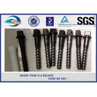 Wholesale Black Oxide Railway Sleeper Screws Zinc Dacromet Screw On Spikes from china suppliers