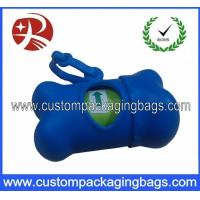 Wholesale Eco Friendly Dog Poop Bags Custom Printed With Bone Shape Dispenser from china suppliers