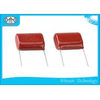 Wholesale Epoxy Resin Coating High Voltage High Capacitance Capacitors Red 100v - 1000v Capacitor from china suppliers
