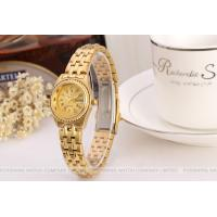 Wholesale Forsining Gold Womens Wrist Watches Bracelet , Gold Dial Case from china suppliers