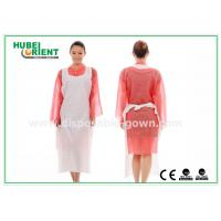 Wholesale CE Transparent Plastic PE Disposable Aprons for Food Service , Medical Grade from china suppliers