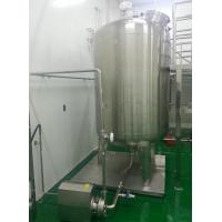 Wholesale Heating Function Stainless Steel Mixing Tanks For Sauce Mixing Heating from china suppliers