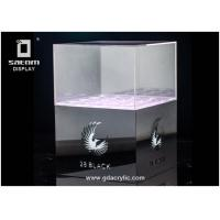 Wholesale Bottle Glorifier Wine Box With Lid Beverage Display Exhibition Show from china suppliers