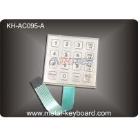 Wholesale Weather - proof Stainless Steel Keyboard for Door Access System from china suppliers